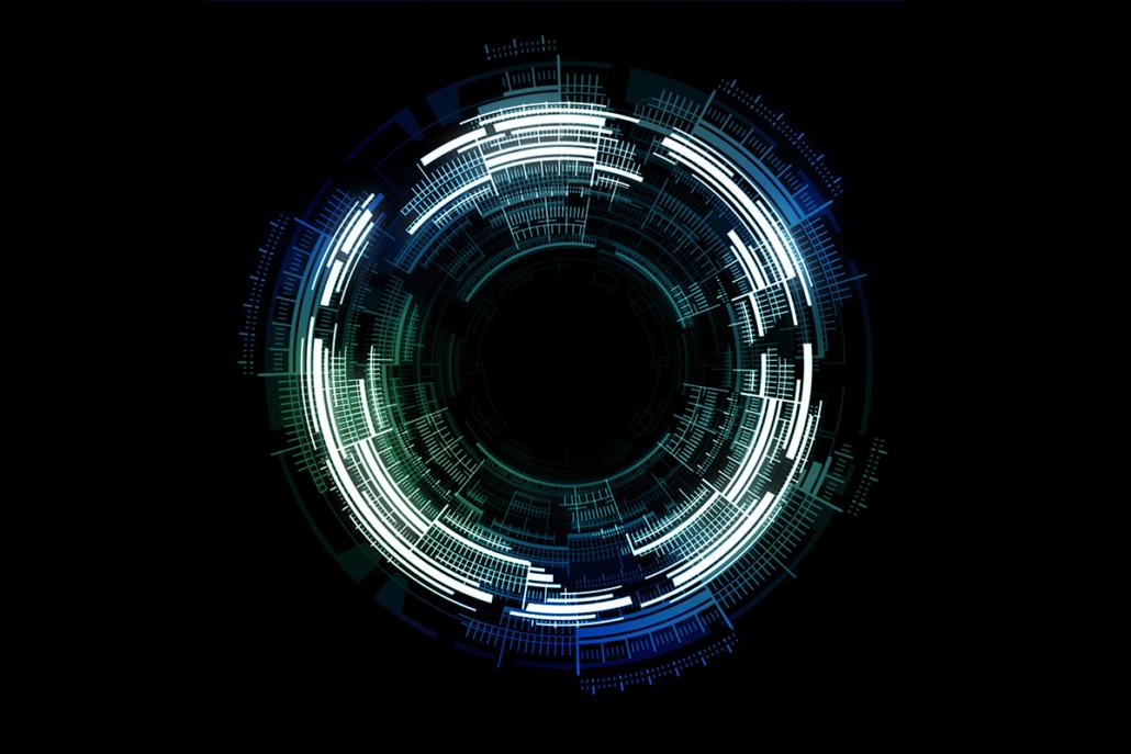 Spanndecken Motiv 05 -108 | Abstrakt | Muster | Licht | Modern