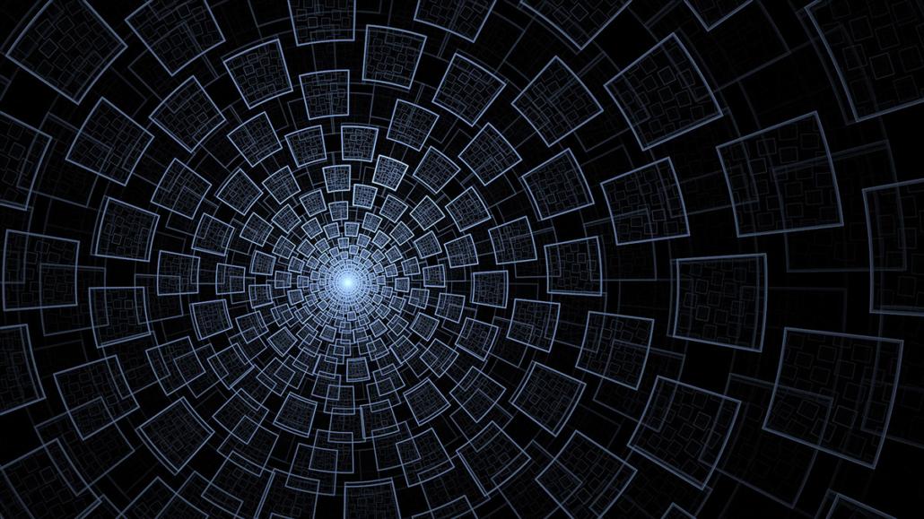 Spanndecken Motiv 05 -107 | Abstrakt | Muster | Perspektive