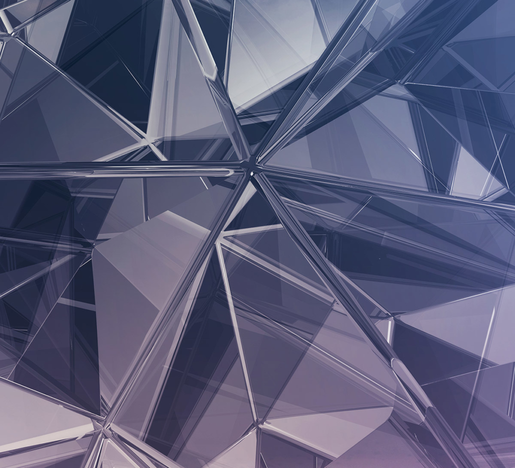 Spanndecken Motiv 05 -102 | Abstrakt | Glas | Fraktale