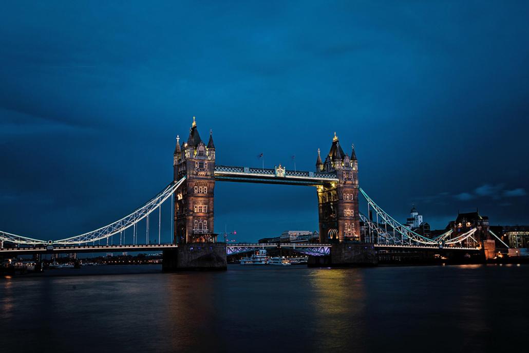Spanndecken Motiv 03-106 | Londonj | Skyline | Panorama