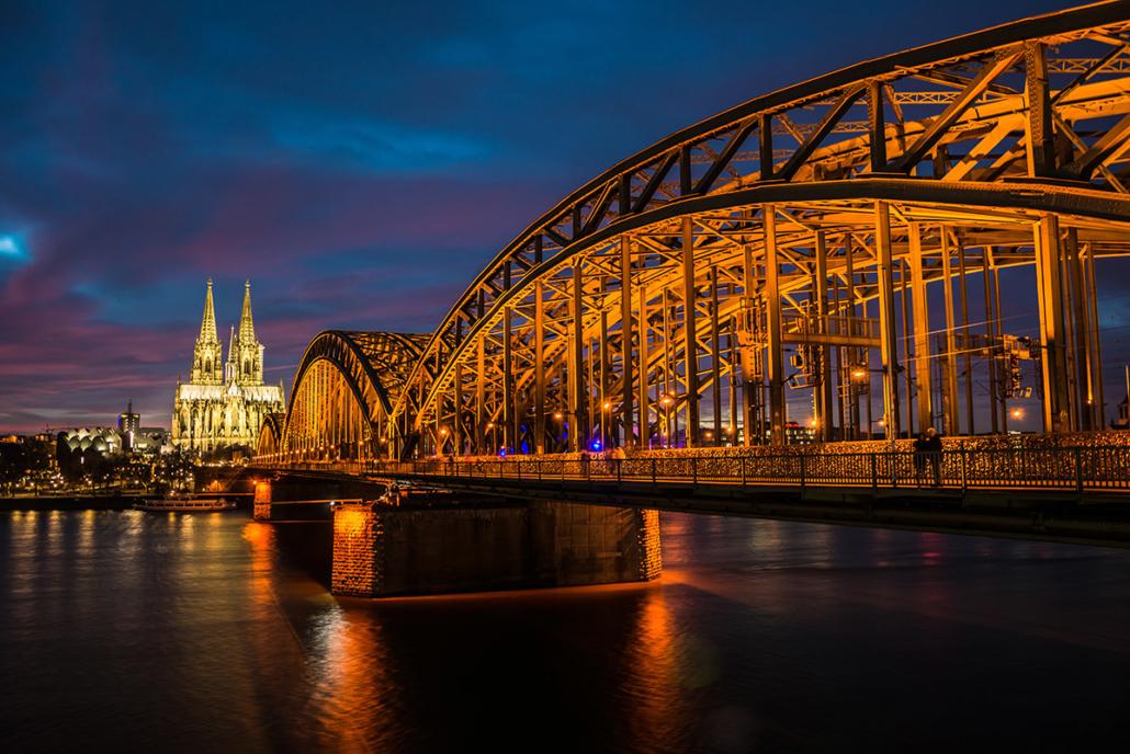 Spanndecken Motiv 03-103 | Köln | Skyline | Panorama