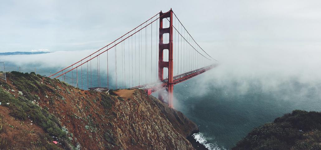 Spanndecken Motiv 03-104   San Francisco   Panorama