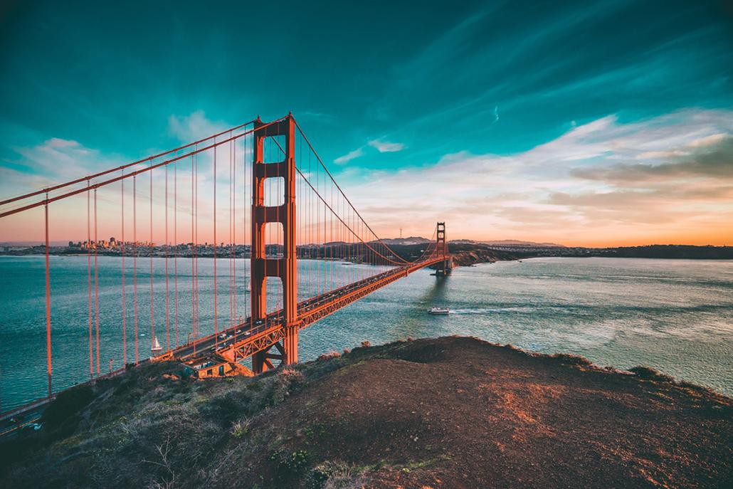 Spanndecken Motiv 03-107   San Francisco   Panorama