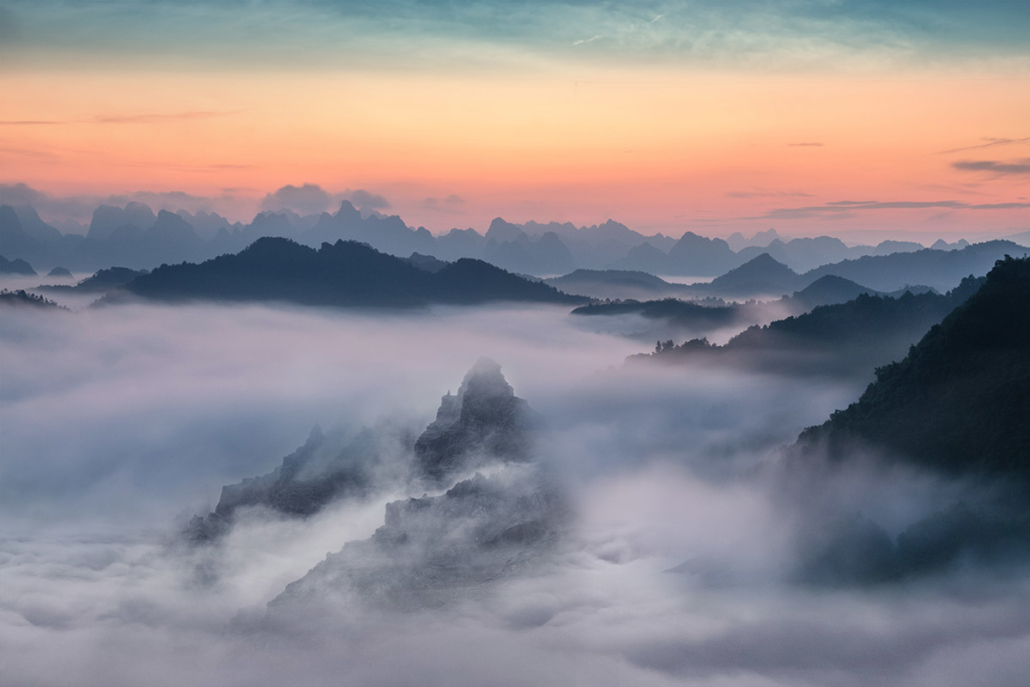 Spanndecken Motiv 04-109 | Natur | Landschaft | Berge | Wandmotiv