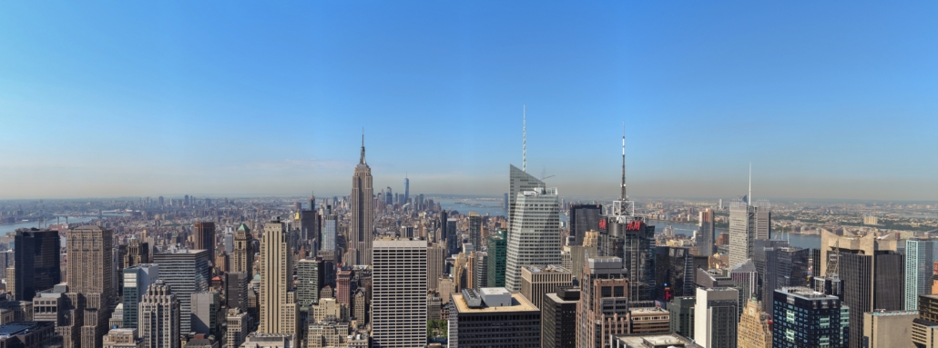 Spanndecken Motiv 03-109 | New York | Skyline | Panorama