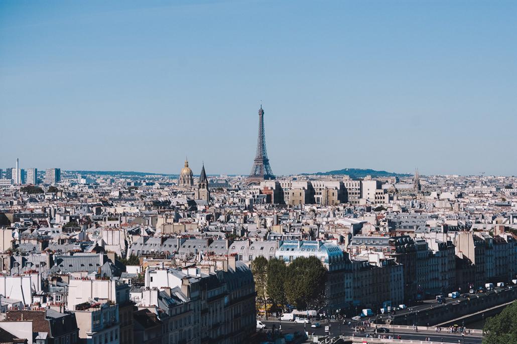 Spanndecken Motiv 03-102   Paris   Skyline   Panorama
