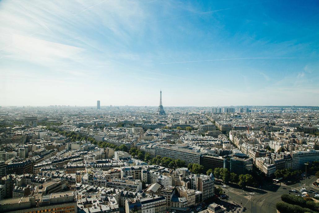 Spanndecken Motiv 03-108   Paris   Panorama