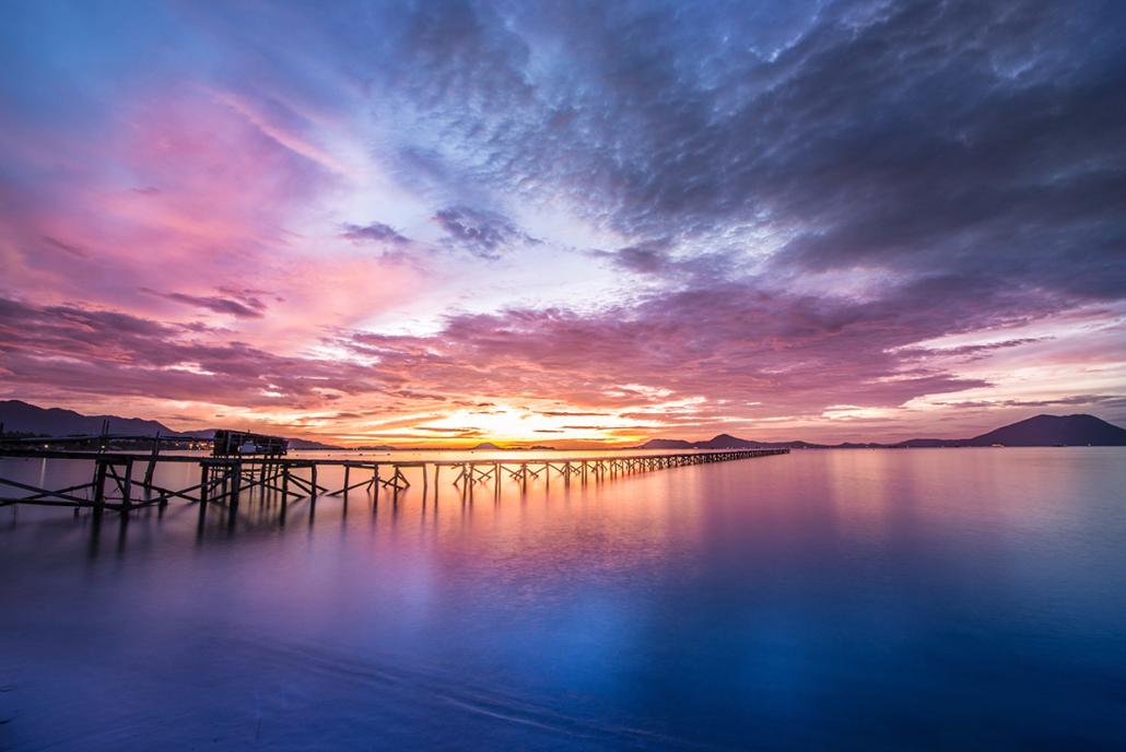 Spanndecken Motiv 02-101 | Sonnenuntergang | Ambiente | Natur