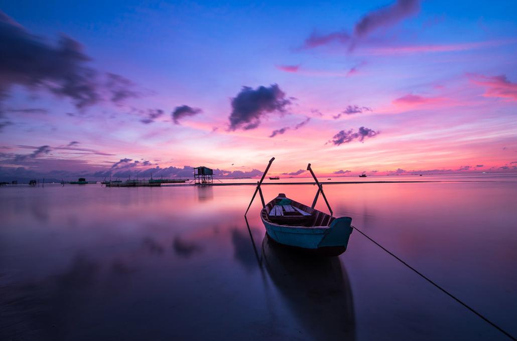Spanndecken Motiv 02-106 | Sonnenuntergang | Ambiente | Natur