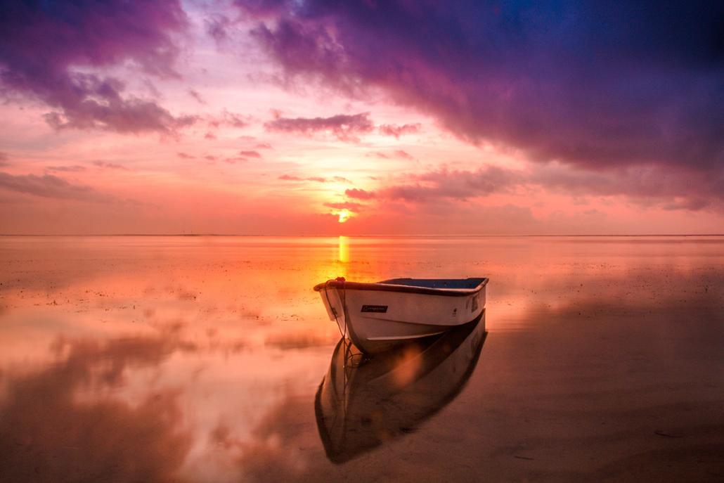 Spanndecken Motiv 02-108 | Sonnenuntergang | Ambiente | Natur