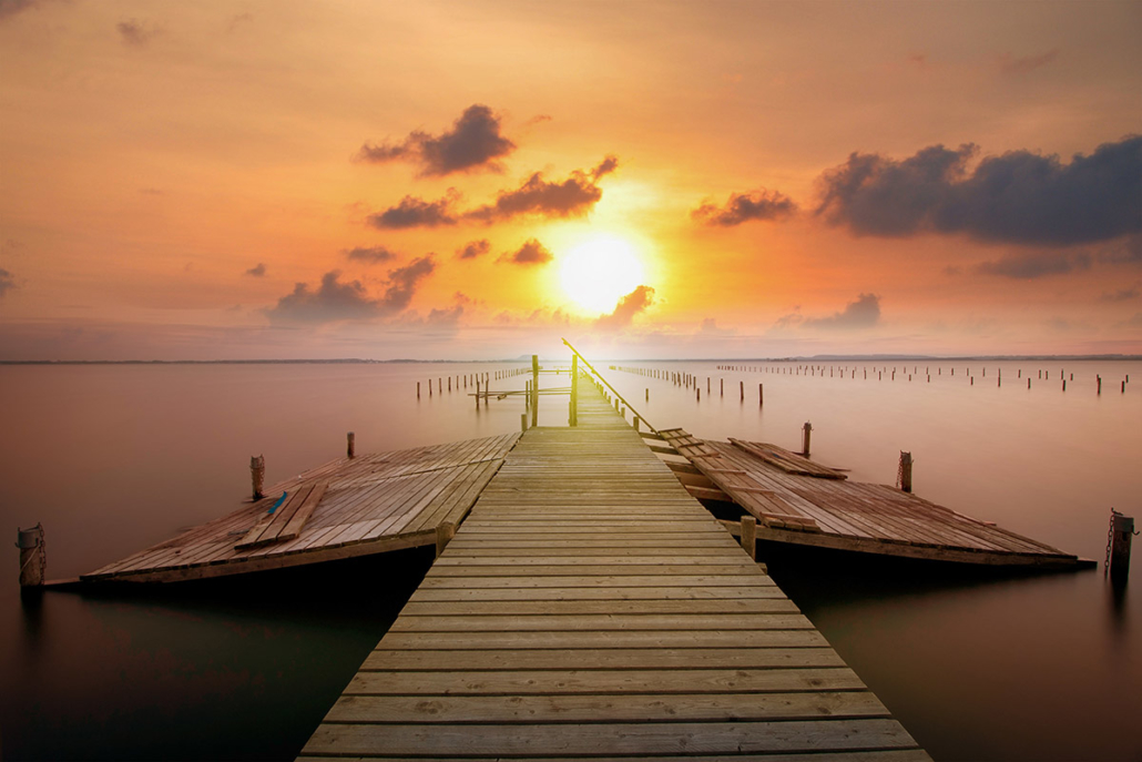 Spanndecken Motiv 02-110 | Sonnenuntergang | Ambiente | Natur