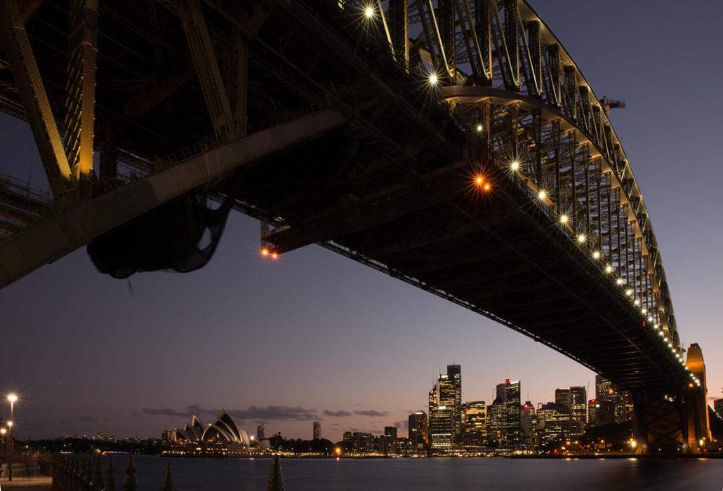 Spanndecken Motiv 03-110 | Sydney | Skyline | Panorama