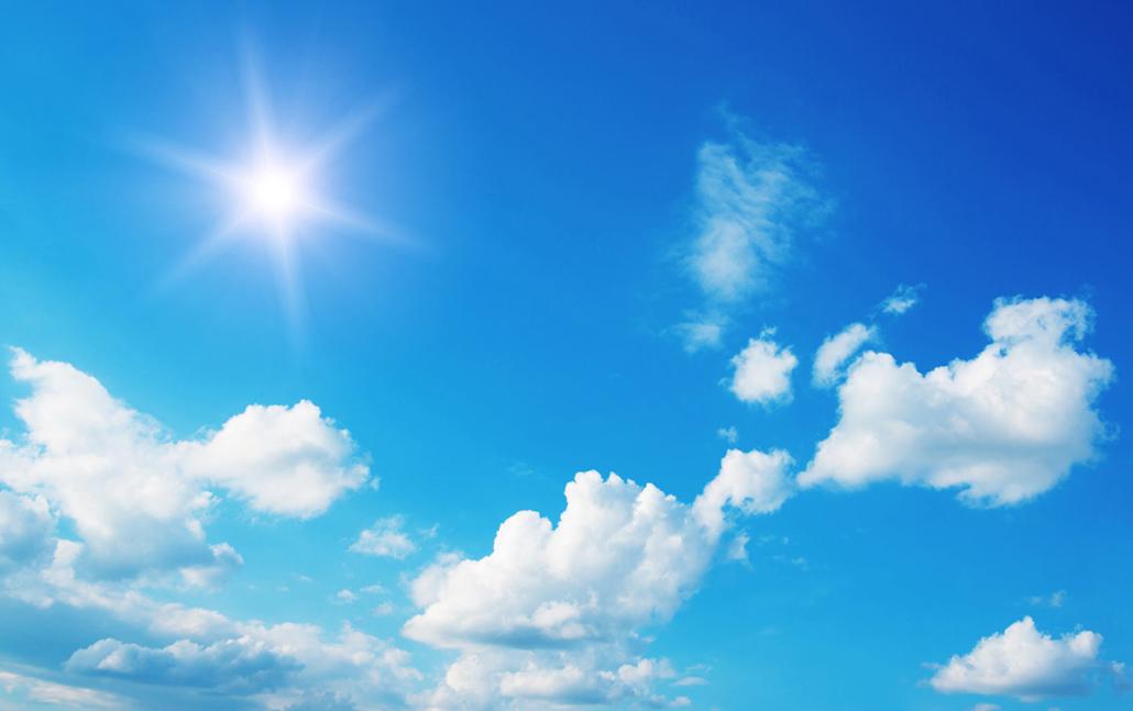 Spanndecken Motiv 01-114 | Sonne | Wolken | Himmel