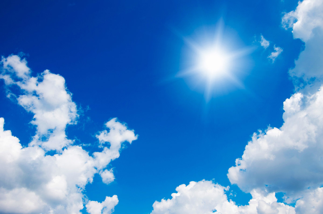 Spanndecken Motiv 01-113 | Sonne | Wolken | Himmel