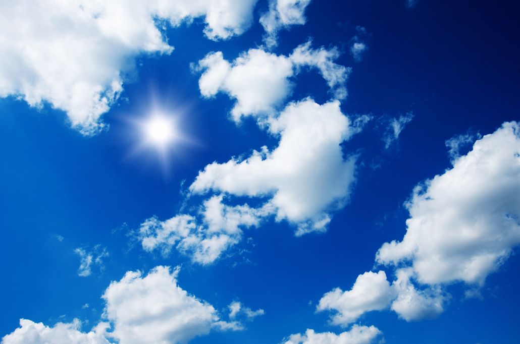 Spanndecken Motiv 01-112 | Sonne | Wolken | Himmel