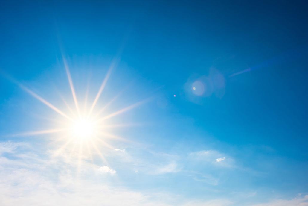 Spanndecken Motiv 01-108 | Sonne | Wolken | Himmel