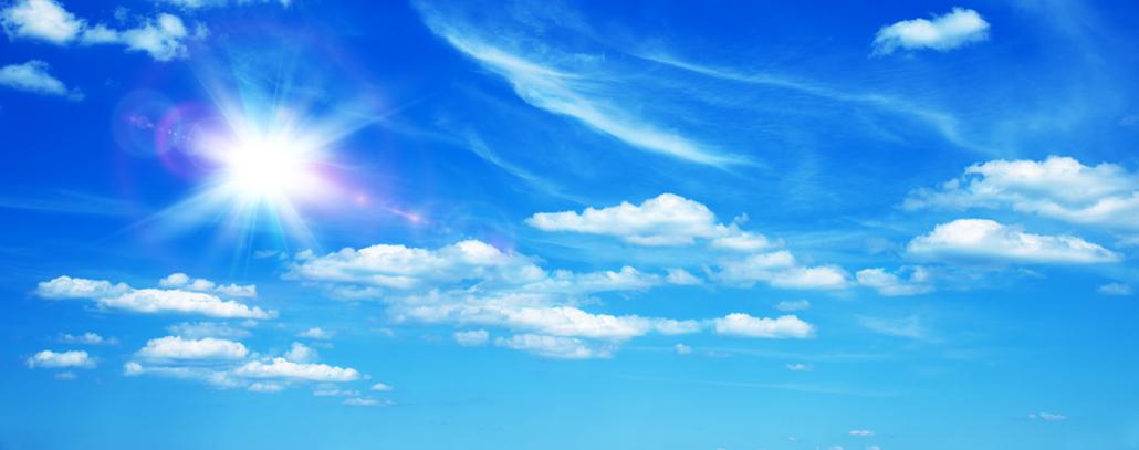 Spanndecken Motiv 01-109 | Sonne | Wolken | Himmel