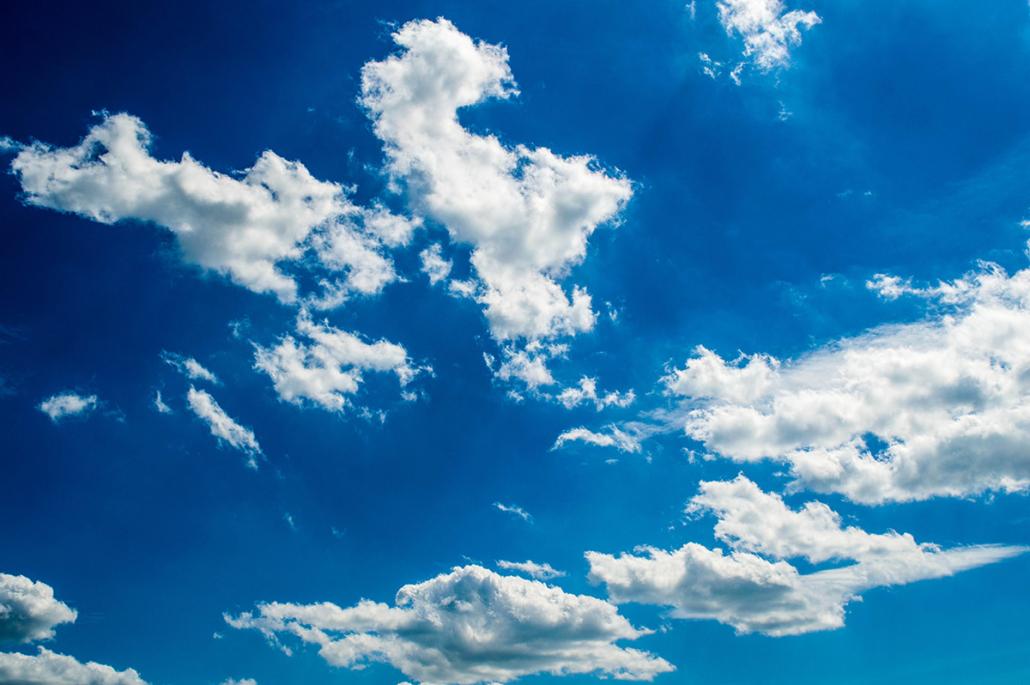 Spanndecken Motiv 01-107 | Sonne | Wolken | Himmel