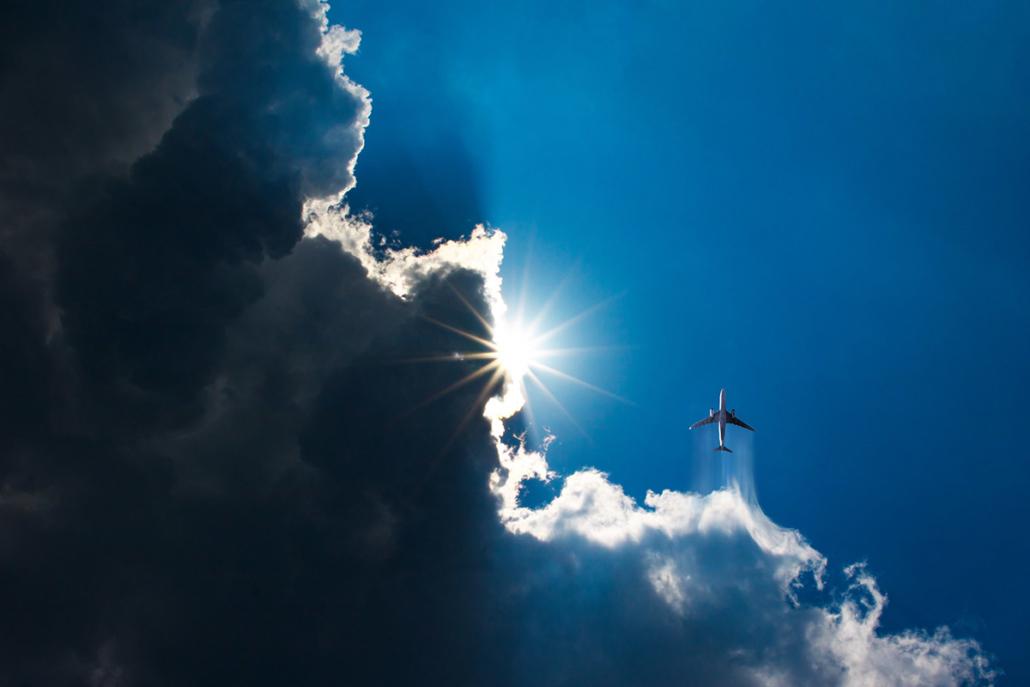 Spanndecken Motiv 01-105 | Sonne | Wolken | Himmel