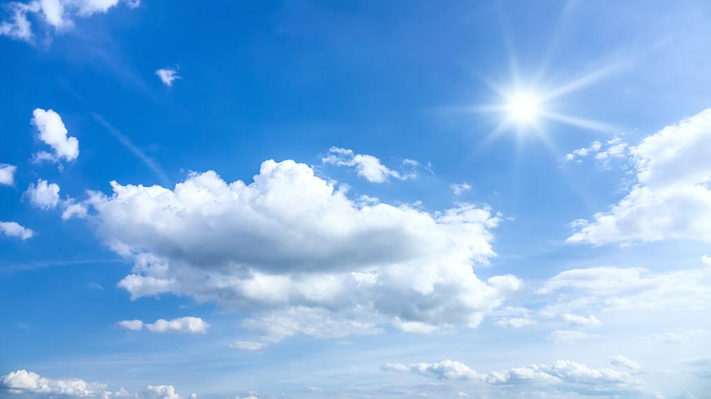 Spanndecken Motiv 01-102 | Sonne | Wolken | Himmel