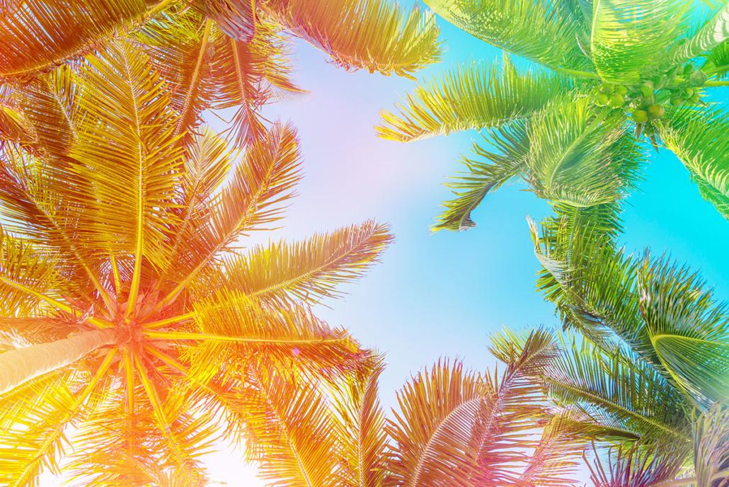 Spanndecken Motiv 07-123 | Urlaub | Landschaft | Deckenmotiv